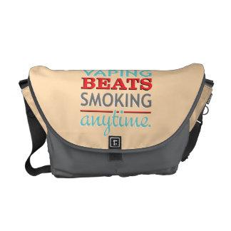 Golpes de Vaping que fuman en cualquier momento Bolsa Messenger