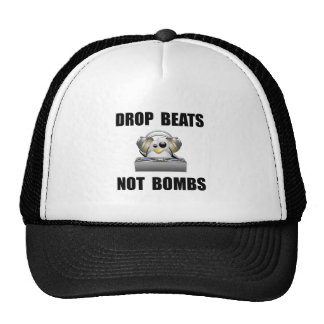 Golpes del descenso gorras