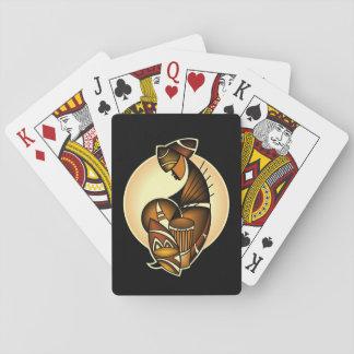 Golpes del Kenyan Baraja De Póquer