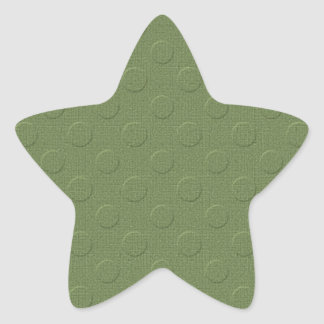 GOLPETEO GRABADO EN RELIEVE DECORATIVO de MLE pd35 Calcomanias Forma De Estrella