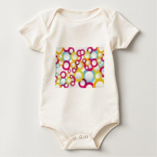 golpeteos 3 del mosaico body de bebé