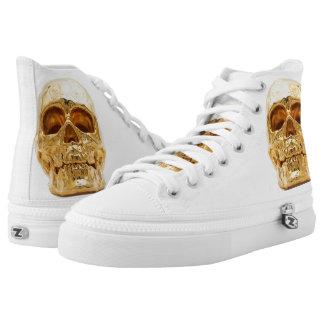 Gols skull High-Top sneakers