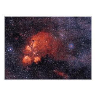 Goma 64 de la garra de oso de la nebulosa NGC 6334 Fotografías