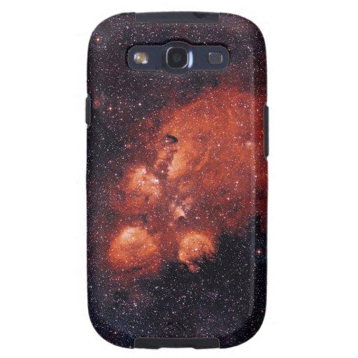 Goma 64 de la garra de oso de la nebulosa NGC 6334 Galaxy S3 Funda