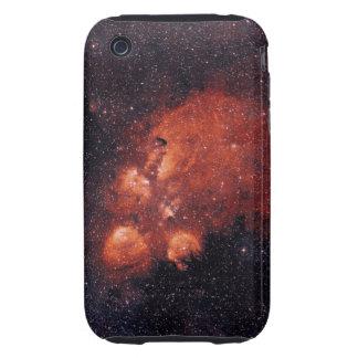 Goma 64 de la garra de oso de la nebulosa NGC 6334 iPhone 3 Tough Cobertura