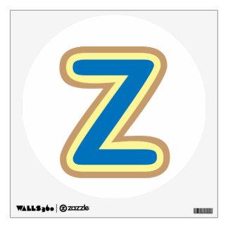 Goma de los PEGATINAS de ZZZ ALPHAZ y etiqueta de