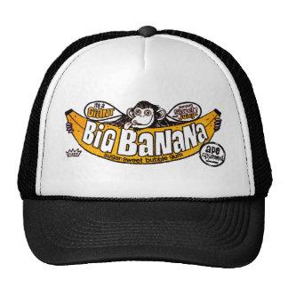 Goma grande divertida del plátano gorra