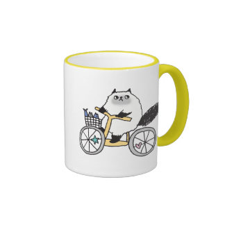 Goma The Firece Rider Mug! Ringer Coffee Mug