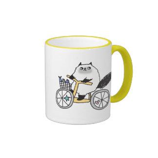 Goma The Firece Rider Mug! Ringer Mug