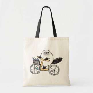Goma The Firece Rider Organic grocery Tote Bag! Budget Tote Bag