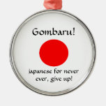 Gombaru!-premium round ornament