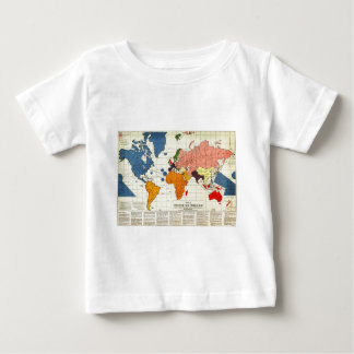 "Gomberg's infamous ""New World Order"" map (1942) Baby T-Shirt"
