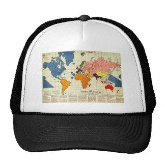 "Gomberg's infamous ""New World Order"" map (1942) Trucker Hat"