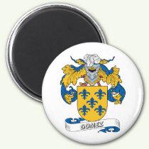 Gomez Family Crest Magnet