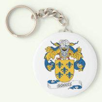 Gomez Family Crest Keychain