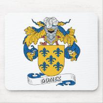 Gomez Family Crest Mousepad