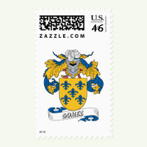 Gomez Family Crest Stamps