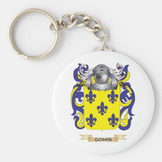 Gomis Coat of Arms (Family Crest) Basic Round Button Keychain