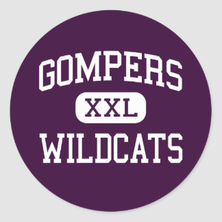 Gompers - Wildcats - High - San Diego California Sticker