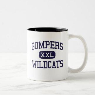 Gompers - Wildcats - High - San Diego California Two-Tone Coffee Mug
