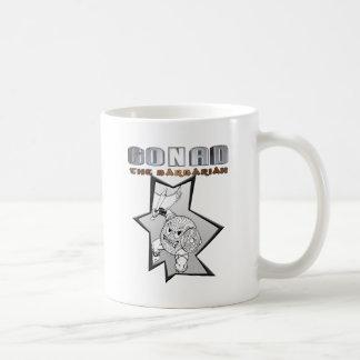 Gonad The Barbarian Classic White Coffee Mug