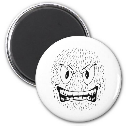Gonad The Barbarian Snarl 2 Inch Round Magnet