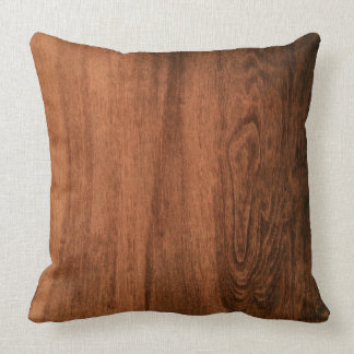 Goncalo alves Wood Grain Pillow