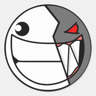 Gonculator Face Classic Round Sticker