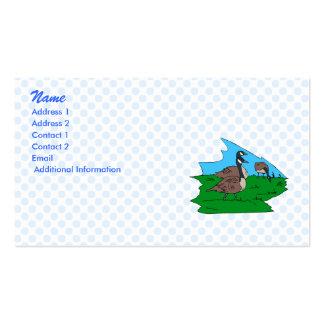 Gonda goose business card templates