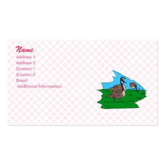 Gonda goose business card