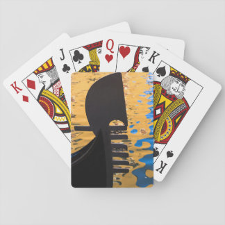 Gondola and water ripples, Italy Playing Cards