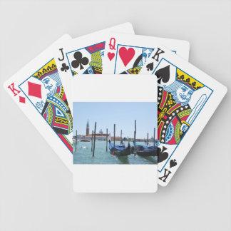 Gondola Bicycle Playing Cards