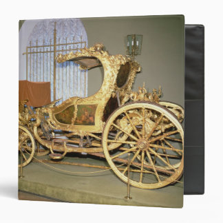 Gondola carriage of Empress Catherine II 3 Ring Binder