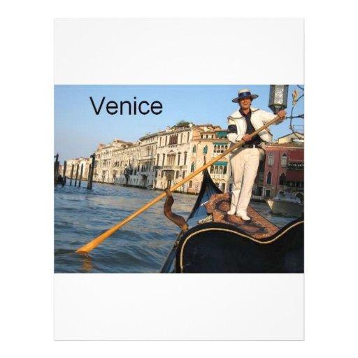 Góndola de Italia Venecia (St.K) Tarjetas Publicitarias