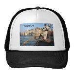 Góndola de Italia Venecia (St.K) Gorro De Camionero