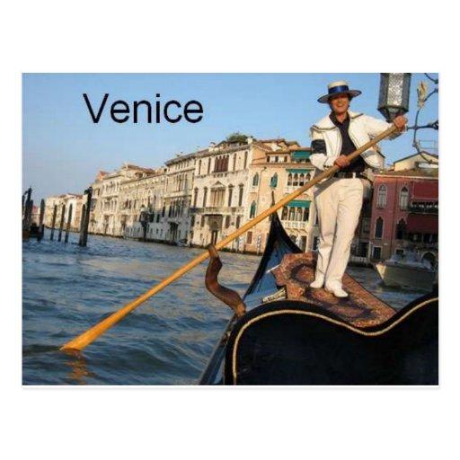Góndola de Italia Venecia (St.K) Postales