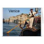 Góndola de Italia Venecia (St.K) Tarjetas