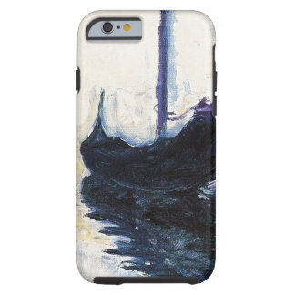 Góndola de Monet en Venecia Funda Para iPhone 6 Tough