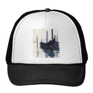 Góndola de Monet en Venecia Gorro De Camionero