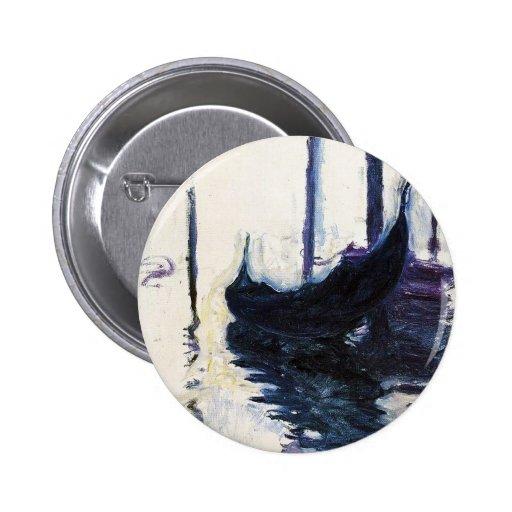 Góndola de Monet en Venecia Pin