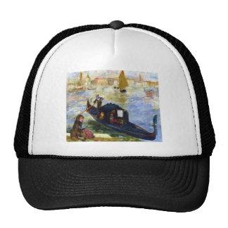 Góndola de Pedro-Auguste Renoir- Gorras De Camionero