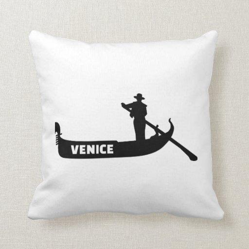 Góndola de Venecia Almohadas