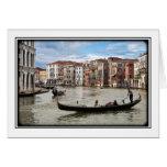 Góndola de Venecia Felicitacion