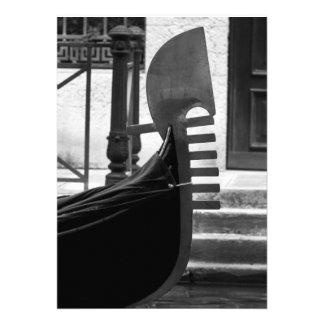 Góndola de Venecia Anuncio Personalizado