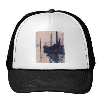 Góndola en Venecia de Claude Monet Gorras De Camionero