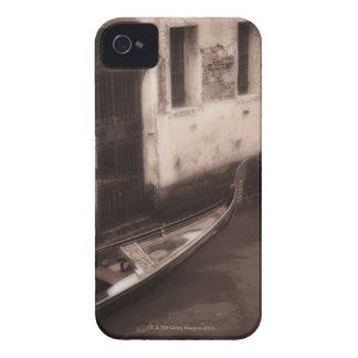 Góndola en Venecia Italia iPhone 4 Cárcasas