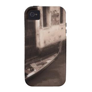Góndola en Venecia Italia Vibe iPhone 4 Carcasa