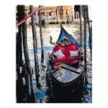 Góndola en Venecia Italia Membrete
