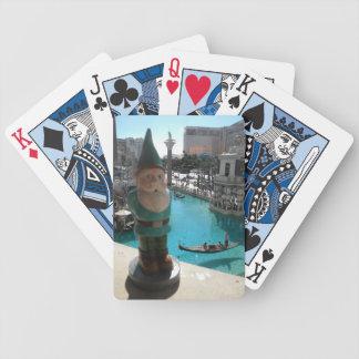 Gondola Gnome I Bicycle Playing Cards