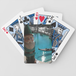 Gondola Gnome II Bicycle Playing Cards
